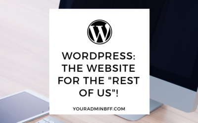 "WordPress: The Website For ""The Rest of Us""!"