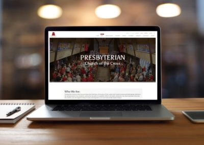 Presbyterian Church of the Cross – Omaha Church Website Design
