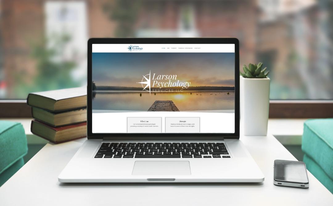 Larson Psychology  |  Website Design