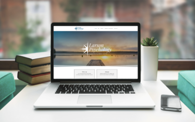 Larson Psychology  |  Website Design