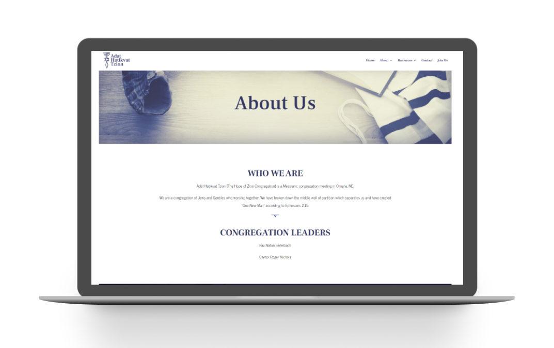 Adat Website Design