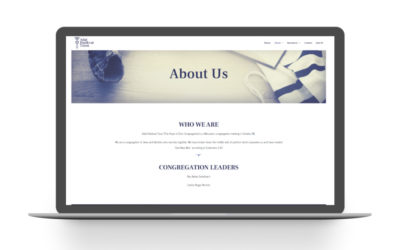 Adat Website Design